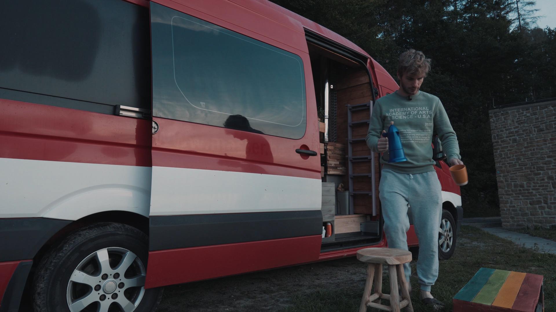 Un Van sur la Route