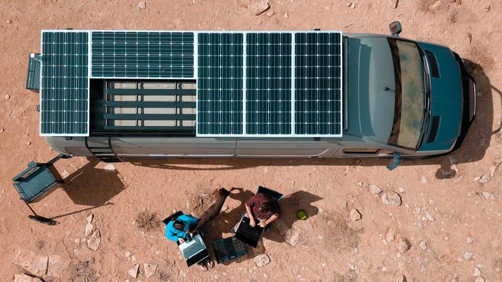 panneaux solaires flexibles EFTE