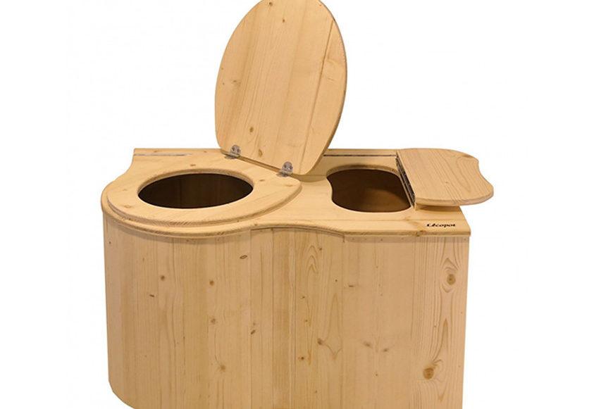 Toilette sèche dans un van aménagé - Vanlife